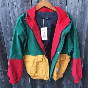 Zaful Jackets Coats Colorblock Corduroy Jacket With Tags Poshmark